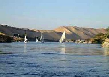 Sunken phosphate barge removed from Nile: Egyptian minister