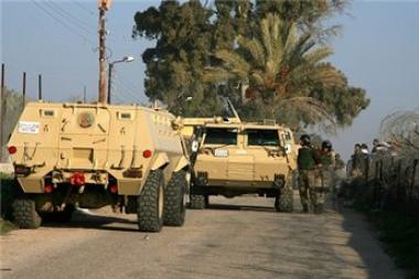 1 policeman dead, 1 injured in a bomb explosion in Egypt's North Sinai